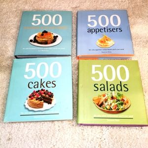 4 recipe books